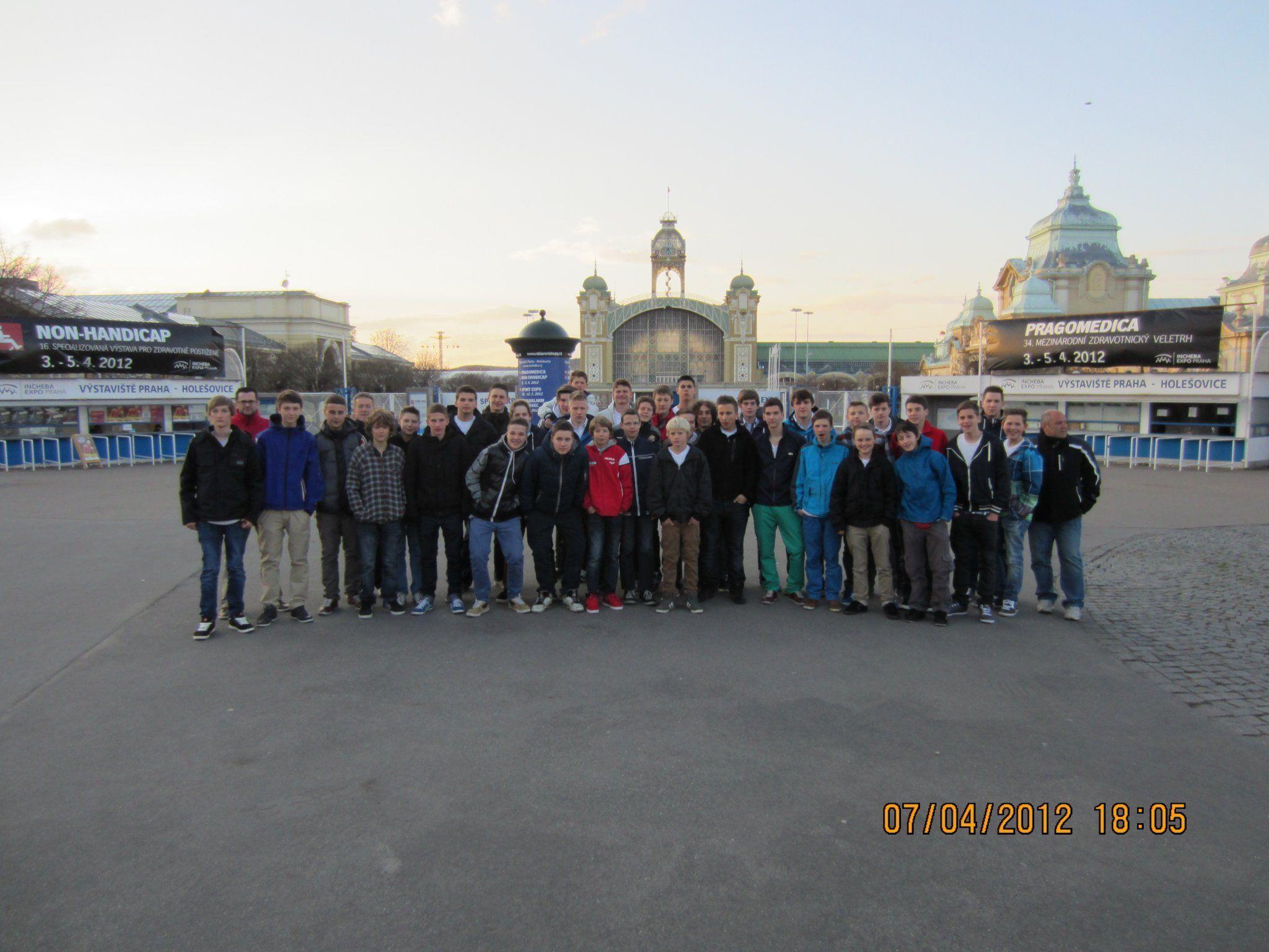 Harder Handballjugend in Prag