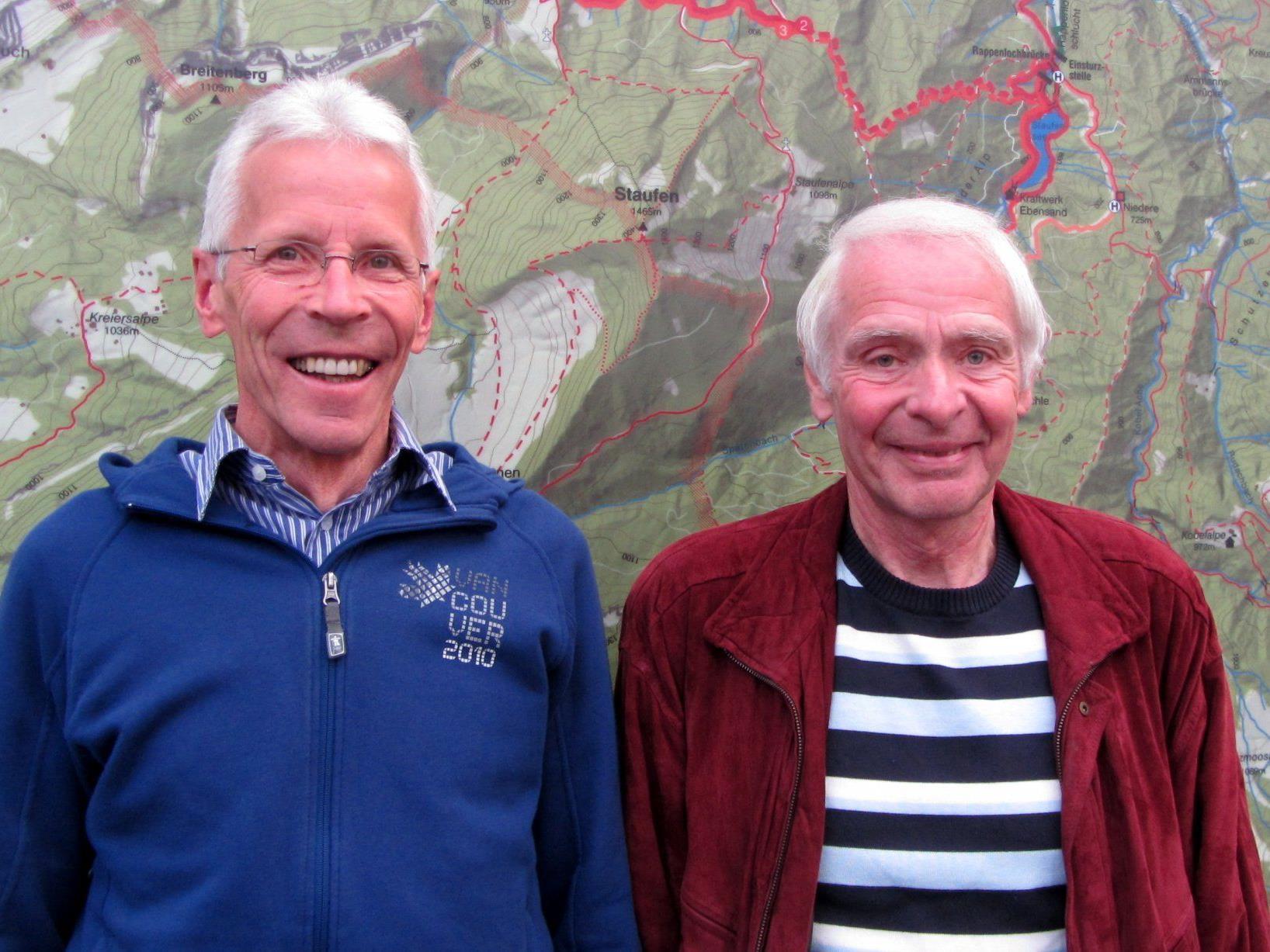 Reinhard Troy und Roland Emhofer