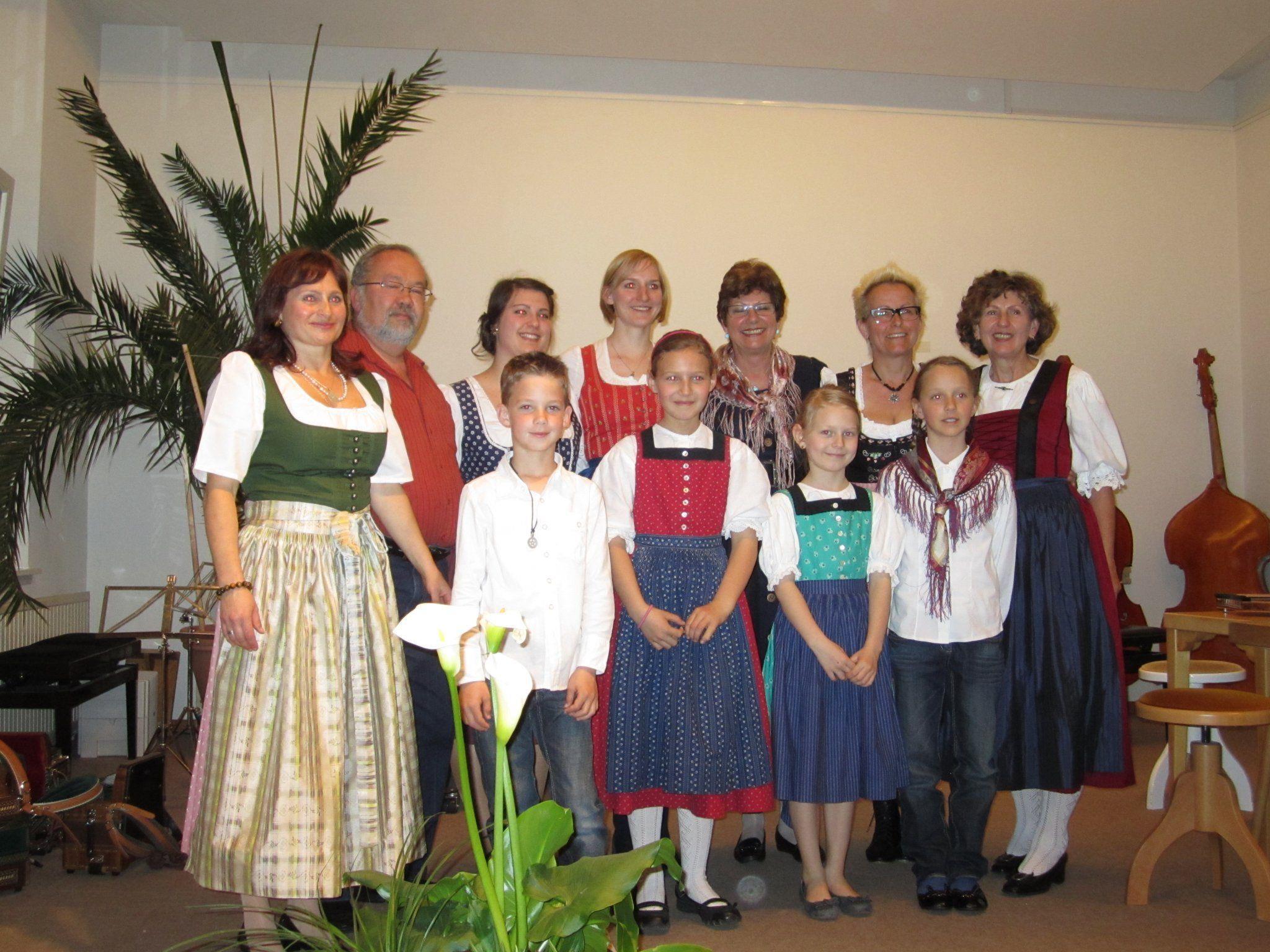 Die Musikklasse von Beate Auer lud zu einer Vorspielstunde
