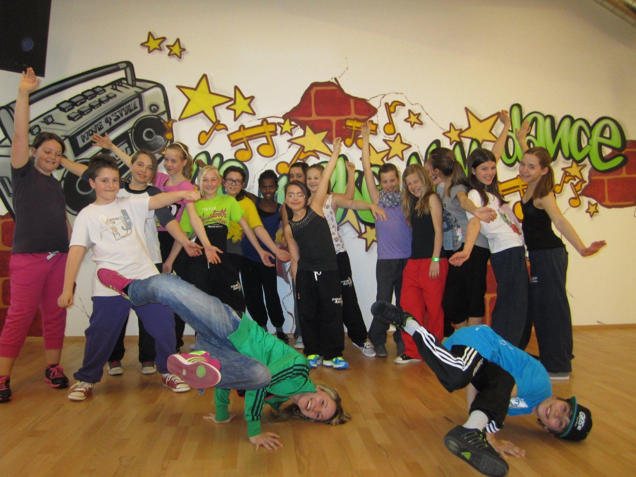 Tanzen soll Spaß machen - und sonst gar nichts . . .