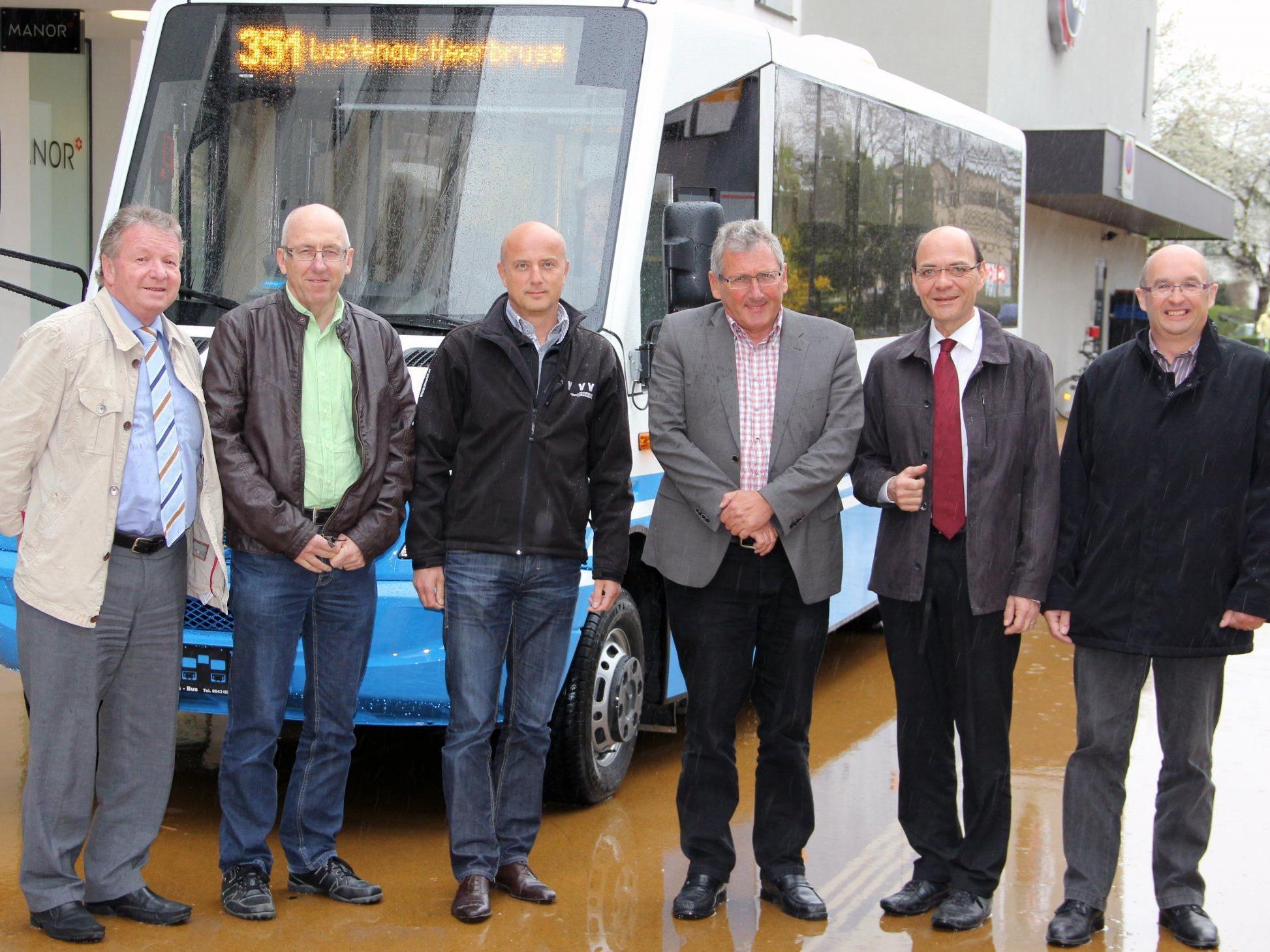 Göpf Spirig, Karl Heinz Winkler, Raimund Frick, Walter Dierauer, HR. Kuhn und H. Koller.