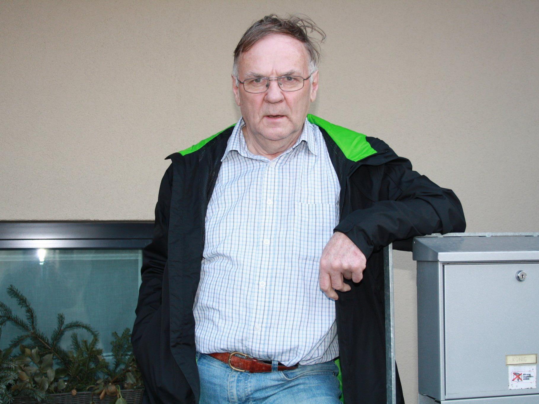 Erich König dankt den vielen Spendern ohne die ein Vereinsleben undenkbar wäre.