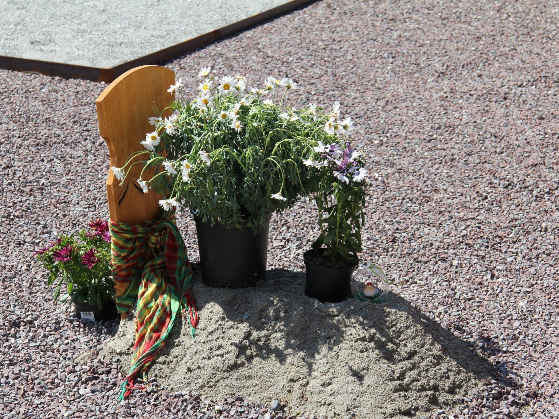 Erste Beerdigung nach islamischem Brauch in Altach.