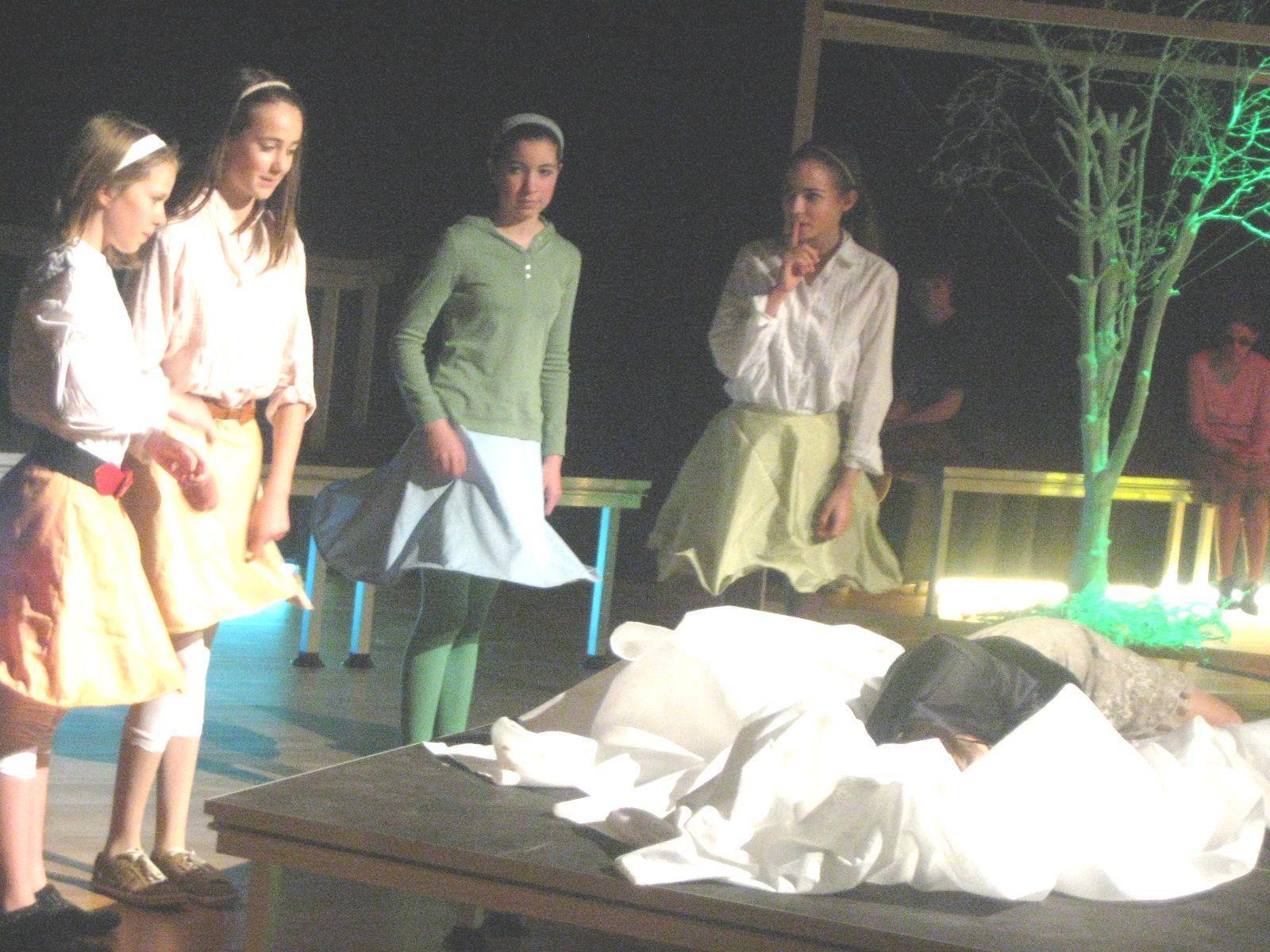 Gekonnt setzten sich die Schüler bei ihren Aufführungen in Szene.