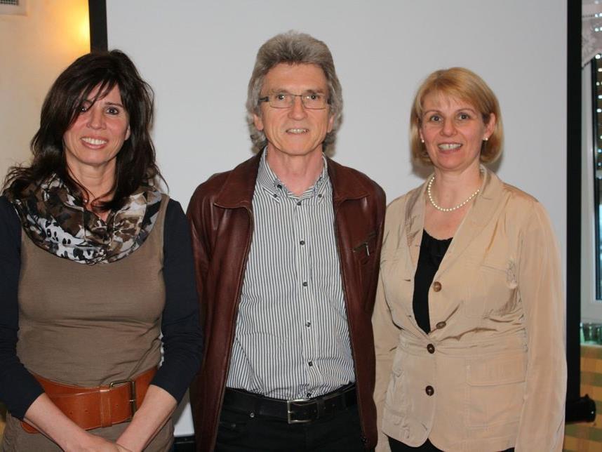 Verena Huter-Gasser, Elred Lipburger und Gabi Wirth