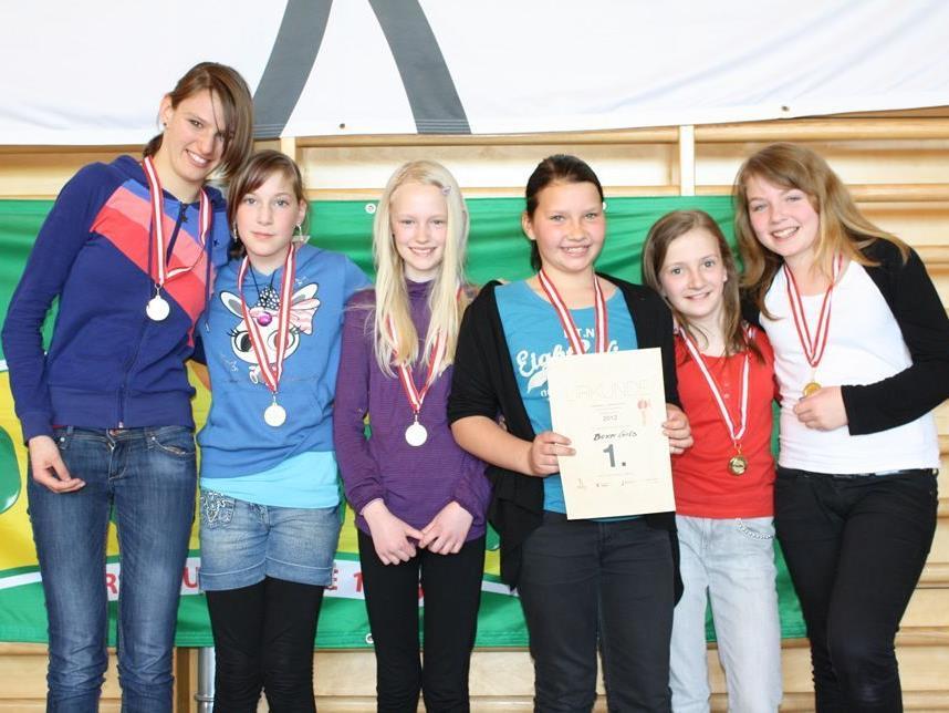 Die Boxer Girls gewannen die Fairness-Wertung der Mädchen.