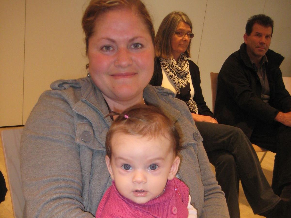 Auch Mama Hülya besuchte mit Lina gerne die Veranstaltung.