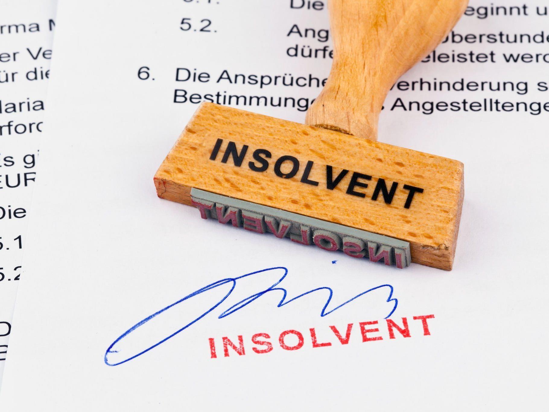 Privat- und Firmeninsolvenzen im 1. Quartal 2012 in Vorarlberg stark angestiegen.