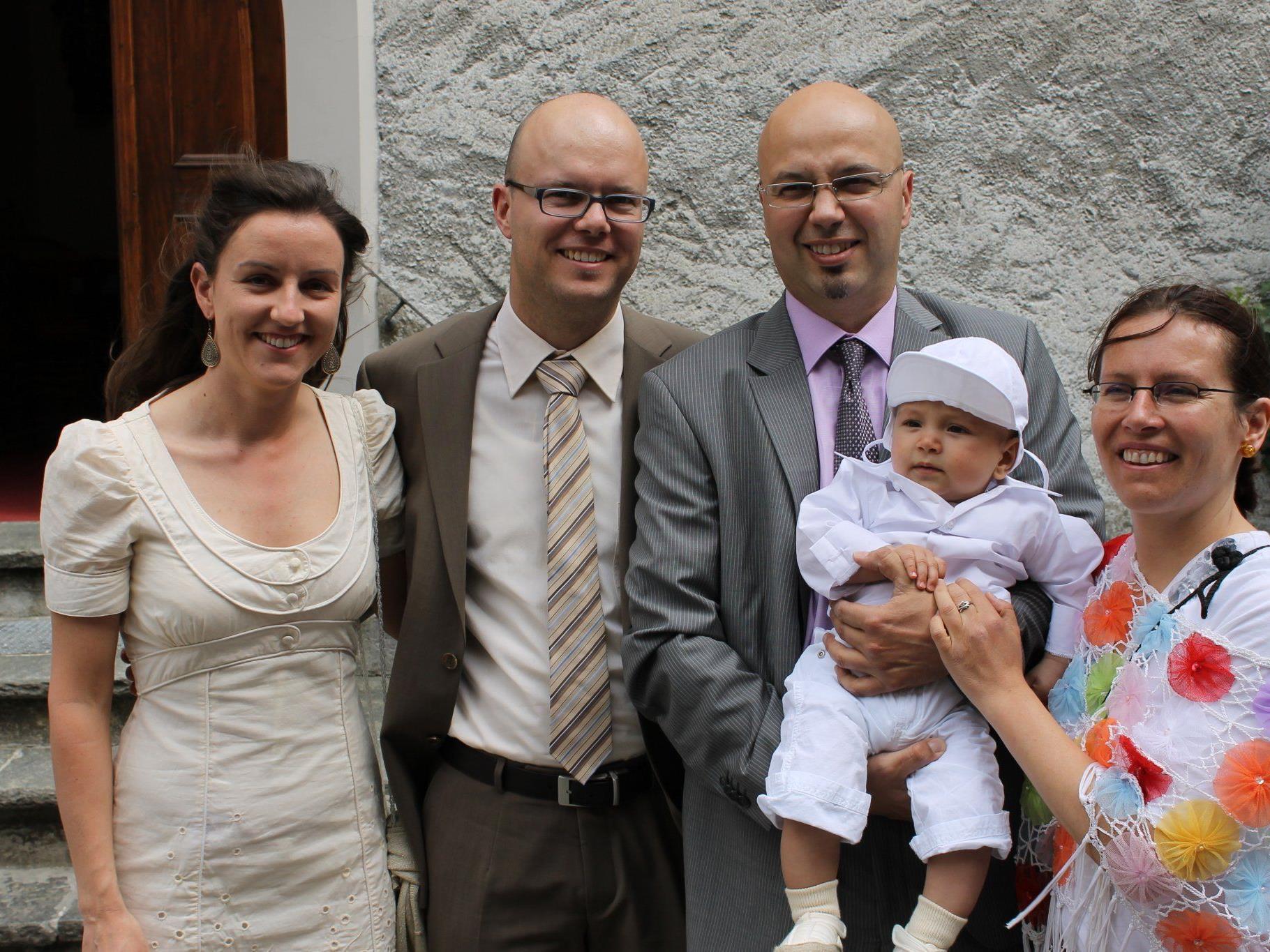 Jakob Emanuel Trostberger wurde in der Dreifaltigkeitskirche getauft