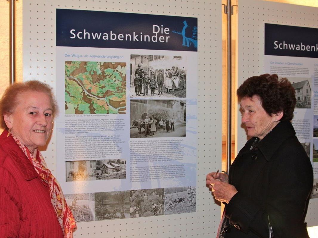 """Viele Informationen bietet die  Ausstellung über die Wanderbewegung der """"Hütekinder"""""""