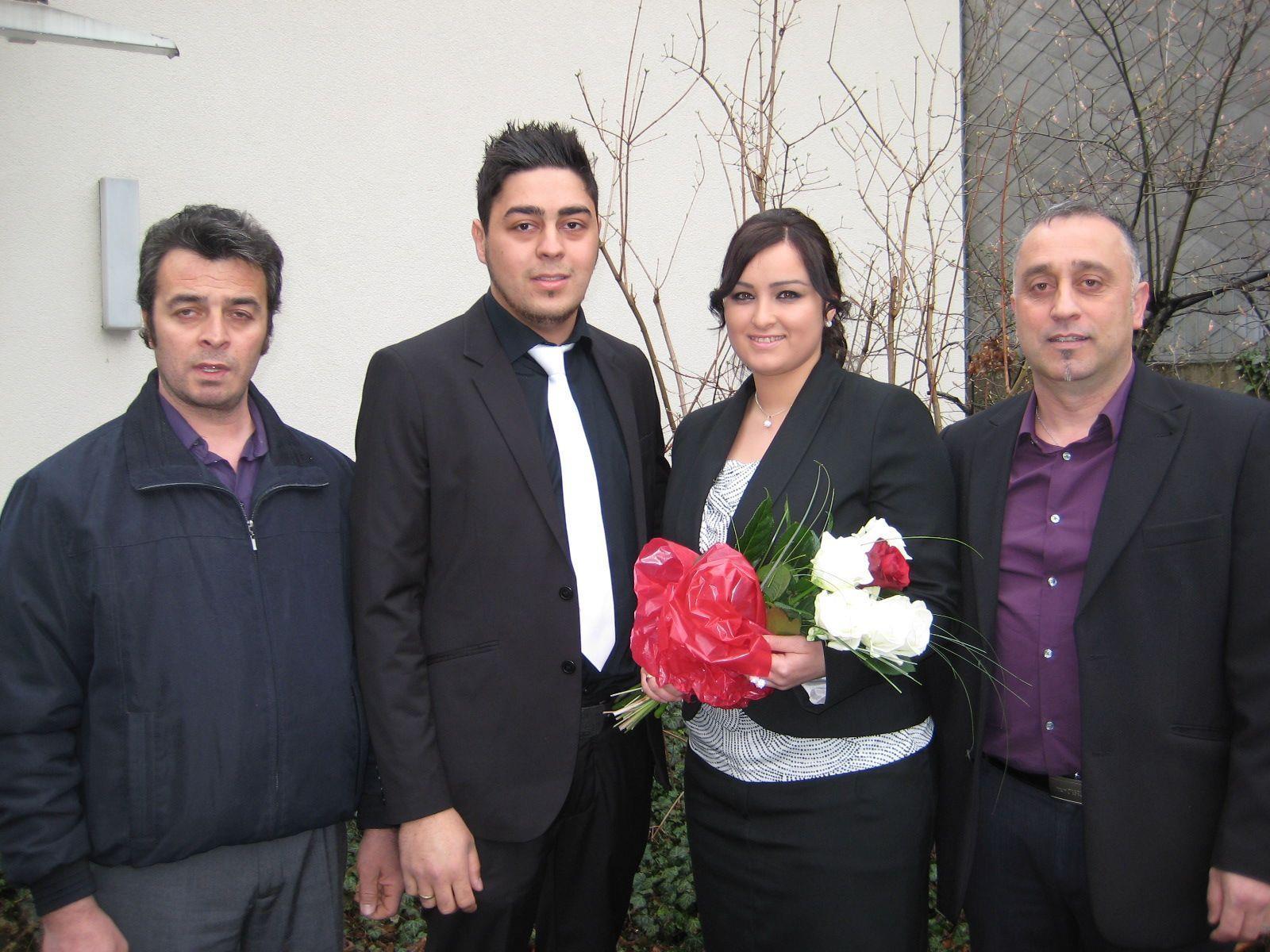 Zeliha Zeyrek und Murat Keklik haben geheiratet.