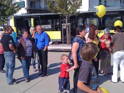 """Das Team von """"Landbus uf'm Weag"""" beantwortet alle Fragen und ist für Vorschläge offen."""