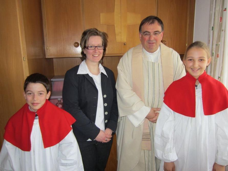 Anja Riesner wurde getauft.