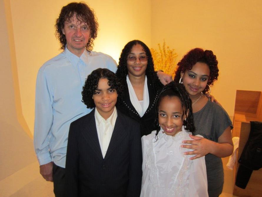 Mabet und Luis Gomez wurden getauft.