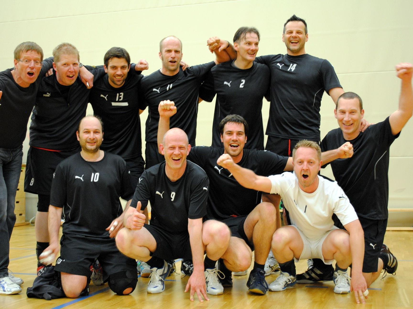 Groß war die Freude bei den Feldkircher Volleyballern