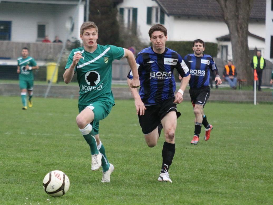 Nenzing gewann gegen Spitzenreiter Austria Lustenau Amateure mit 4:1.