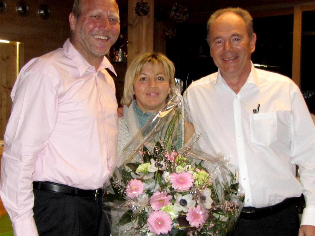 3 Geburtstage: Norbert Ratz, Maria Schuh und Hubert Rupp (von links)