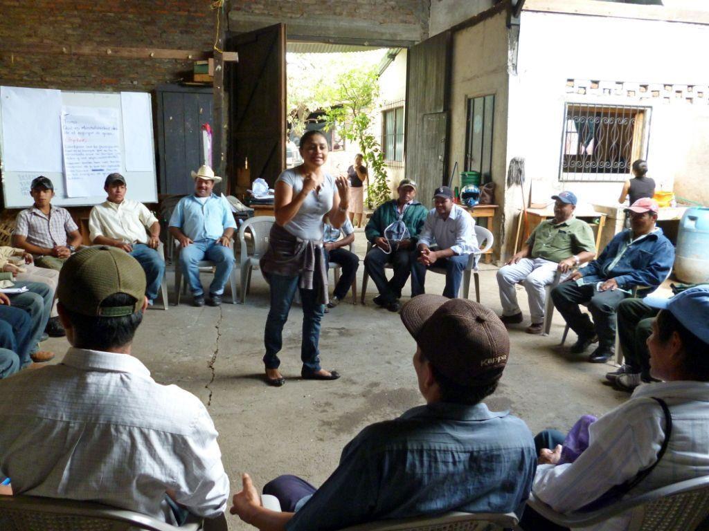 Ein Großteil vom Erlös kommt einem Familien-Projekt in Nicaragua zu Gute.