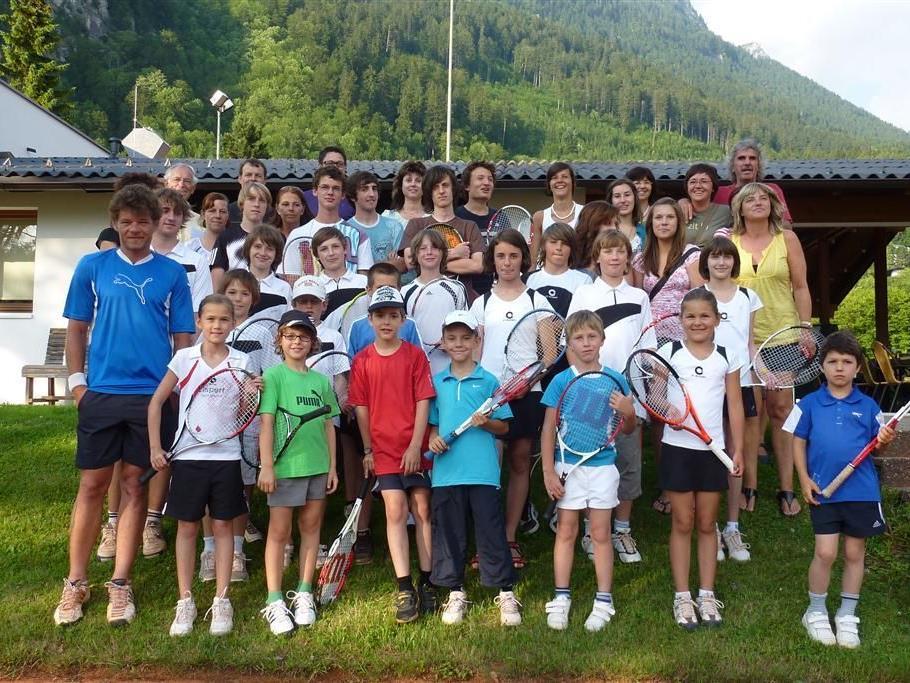 Die Jugendförderung wird beim TC Bludenz groß geschrieben.