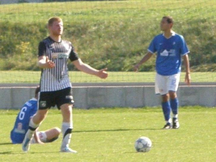 Stefan Betsch (li.) erzielte in Göfis zwei Treffer.