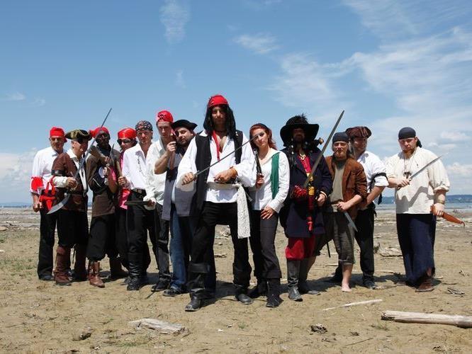 Die wilden Piraten aus Neu Amerika