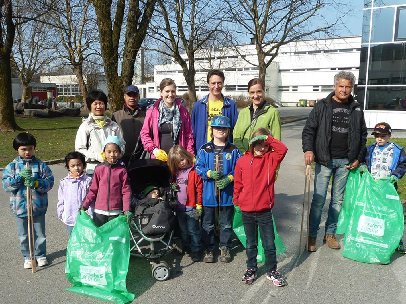 Der Elternverein des VS Herrenried stellte mit 55 Freiwilligen wieder das stärkste Kontingent.