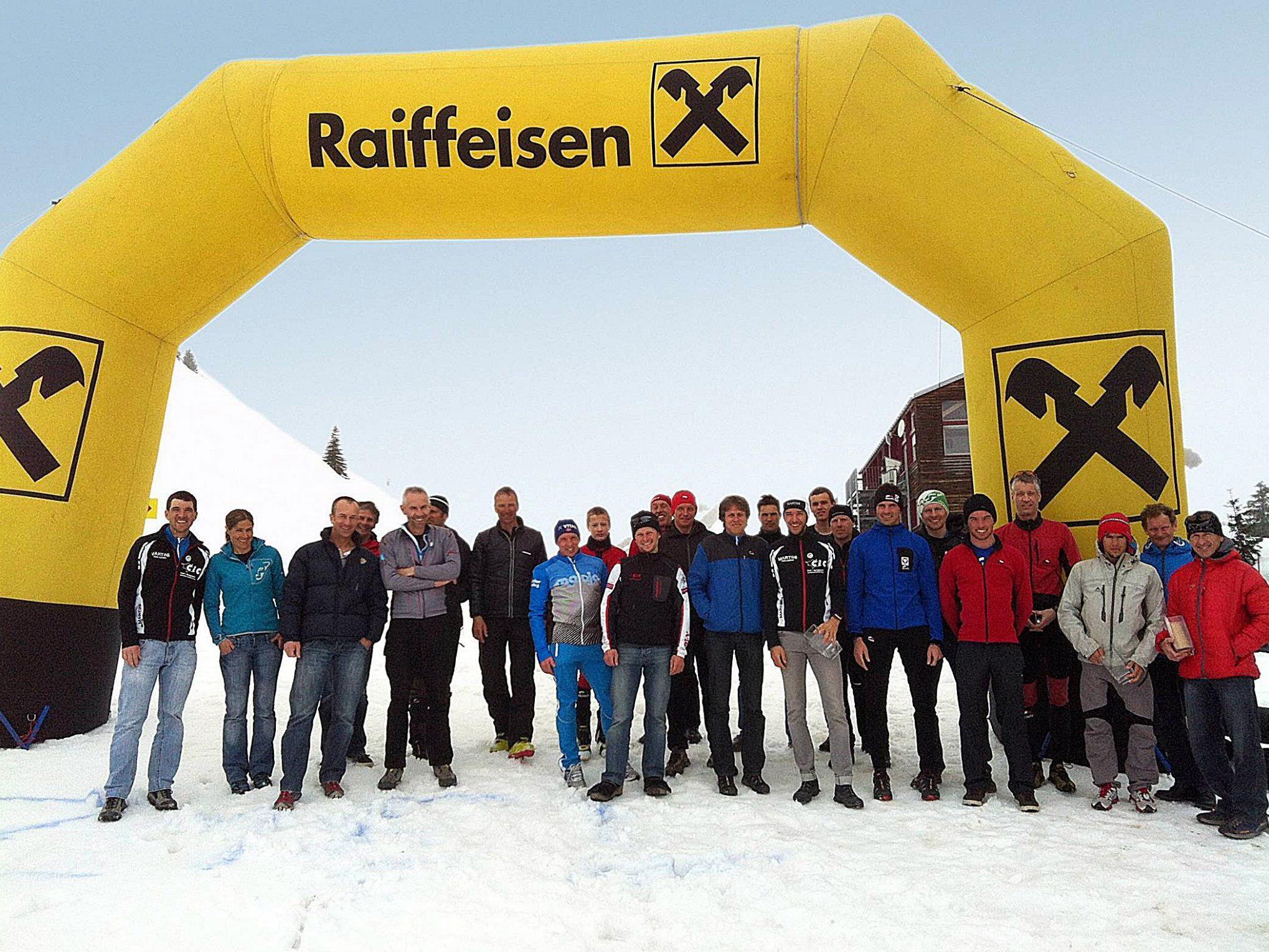 Als achtes Rennen stand der Tannberglauf in Warth/Schröcken auf dem Programm.