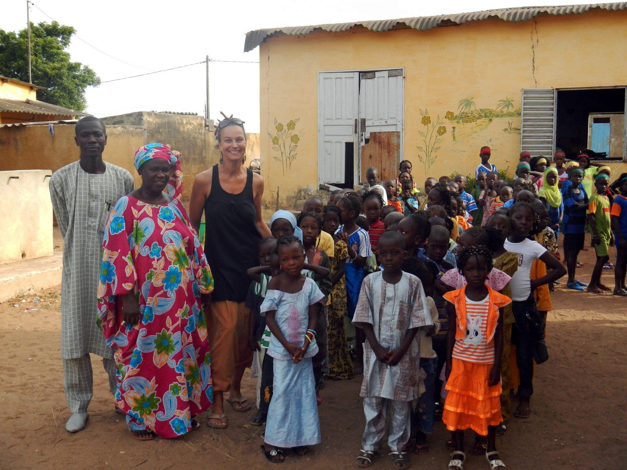 5.798 virtuelle Kilometer für 30 Schuljahre für senegalesische Kinder.