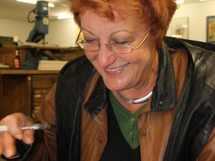 Margit Seeberger ist unter den Vortragenden beim MundartMai im Wolfhaus
