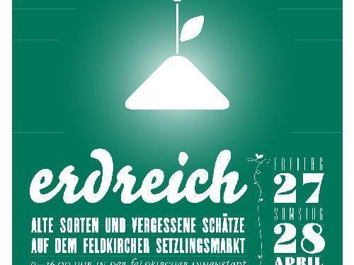 erdreich - Alte Sorten und vergessene Schätze am 27. und 28. April in der Innenstadt