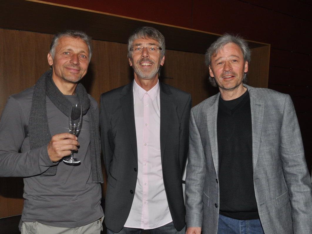 Michael Ender, Wolfgang Schuler und Roland Weber luden zum Dankeschönabend.