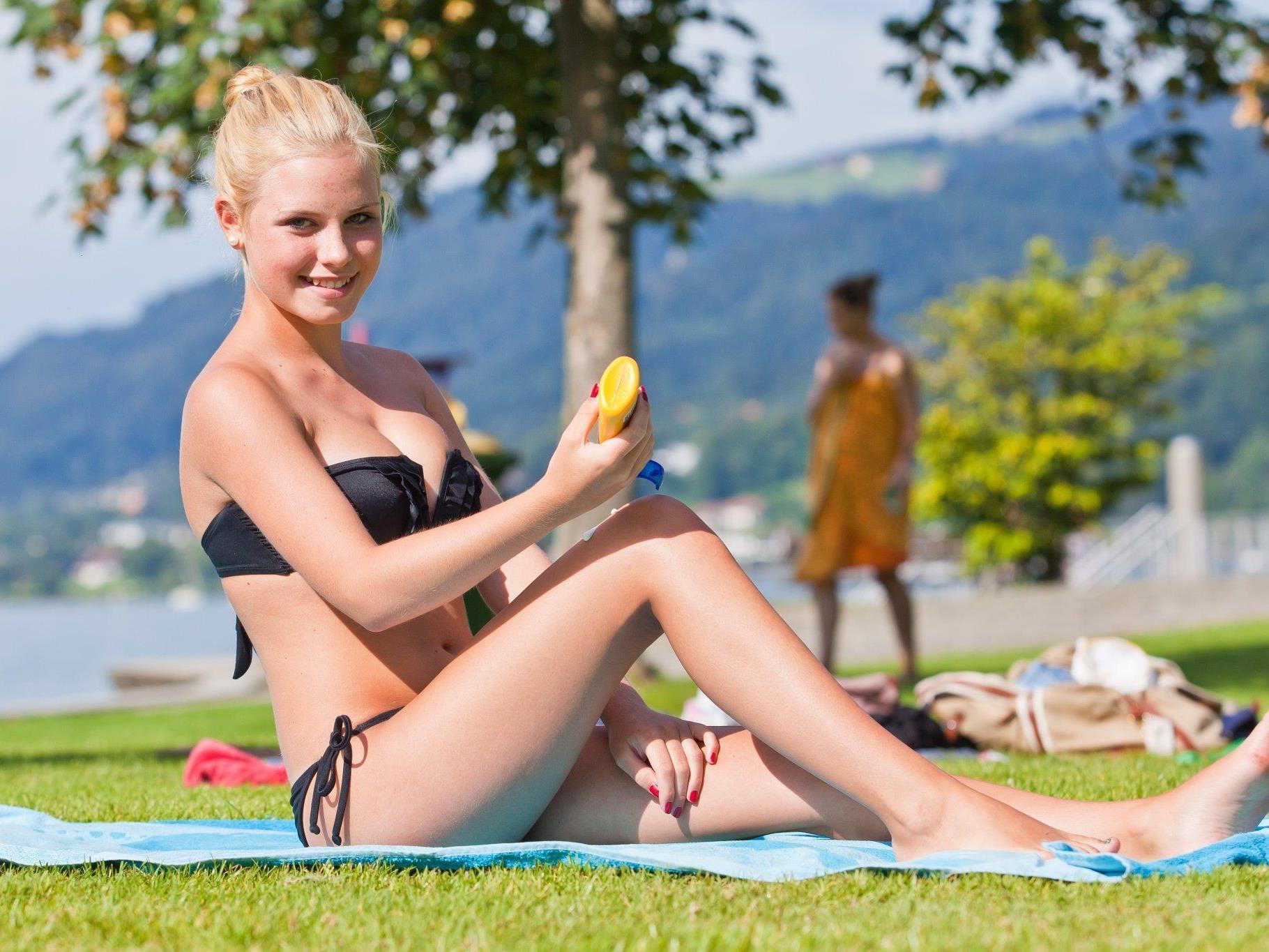 Ab 5. Mai darf im Strandbad Bregenz wieder die Sonne angebetet werden .