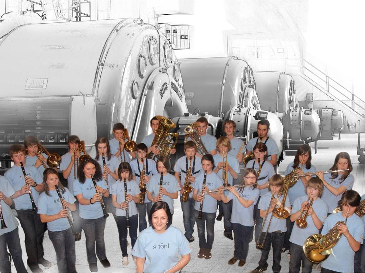 Das Jugendblasorchester der Stadtmusik feiert ihr 10 jähriges Bestehen.