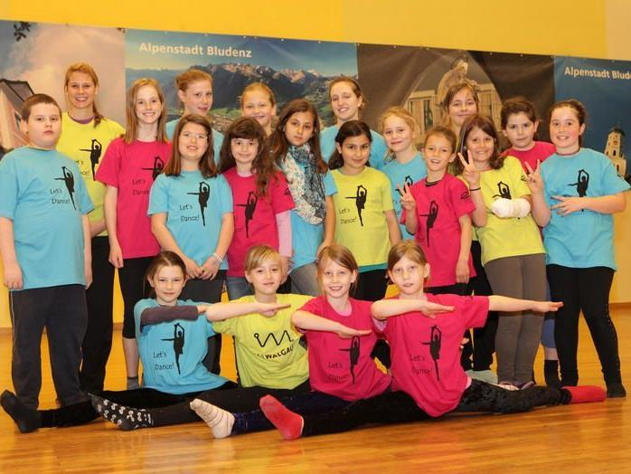 Viel Spaß hatten die Workshopteilnehmerinnen im Bludenzer Stadtsaal.