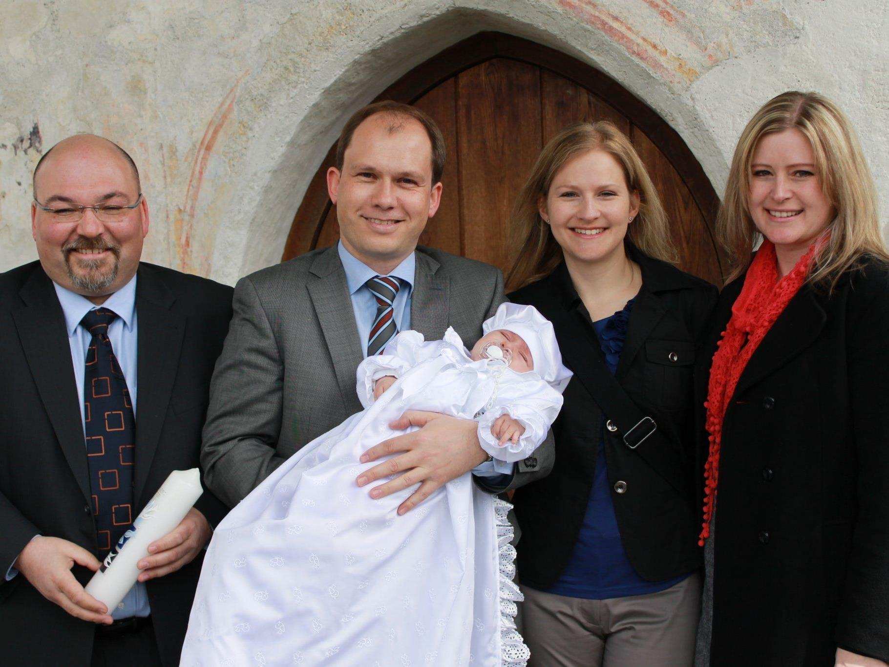 Clemens Neier wurde in der St. Vinerkirche getauft