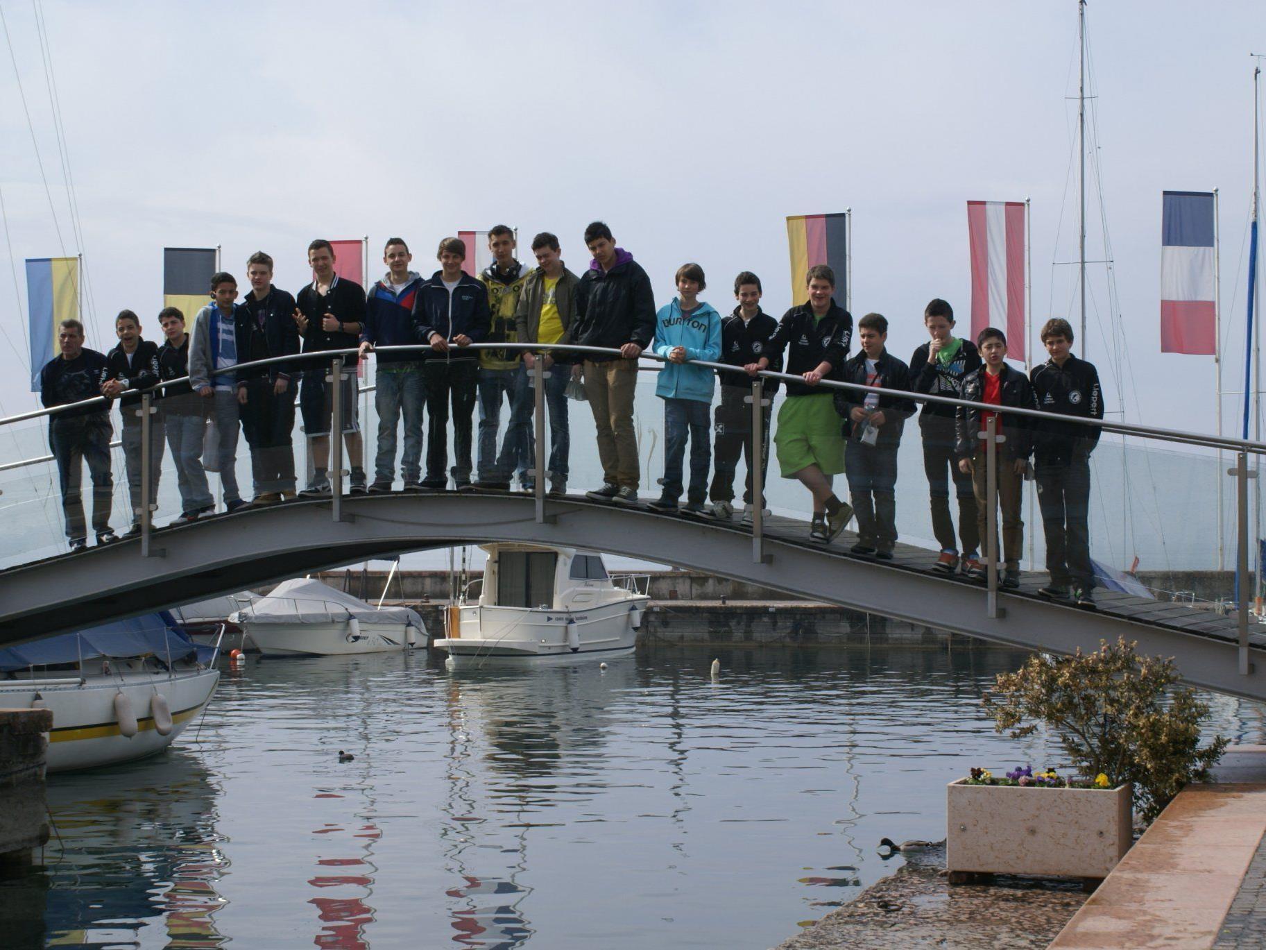 Trainingslager der Rätia U15 am Gardasee