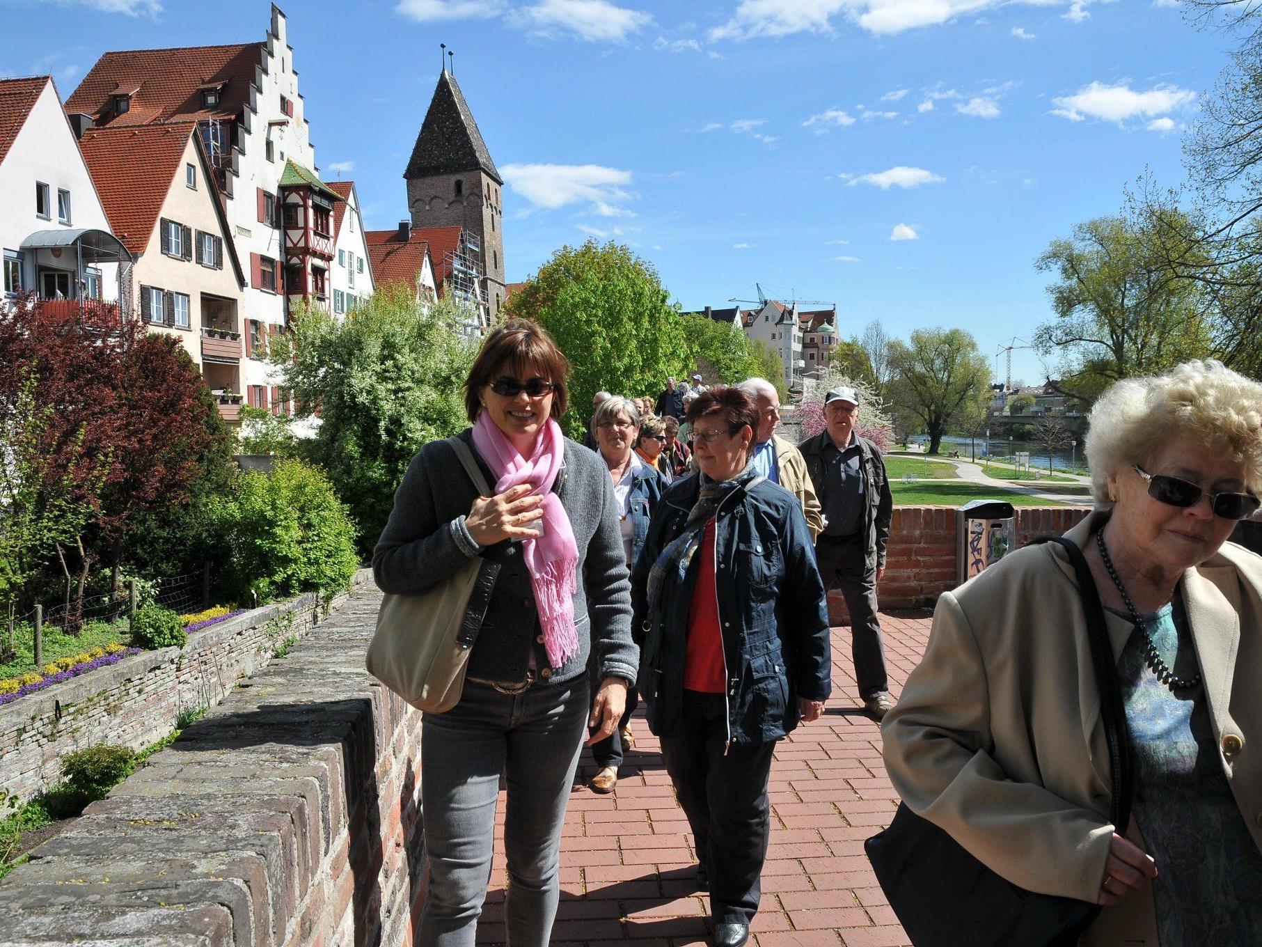Der Höchster Seniorenbund besuchte Ulm.