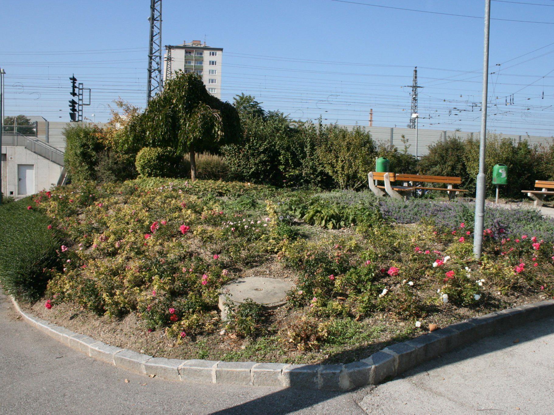 Das ist der neue Utöya-Park in Wiener Neustadt.