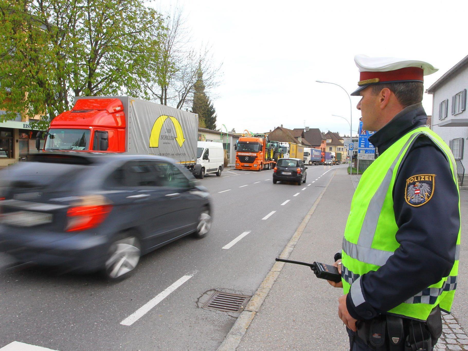 Weniger Unfälle aber mehr Alkohol im Osterverkehr 2012 in Vorarlberg.