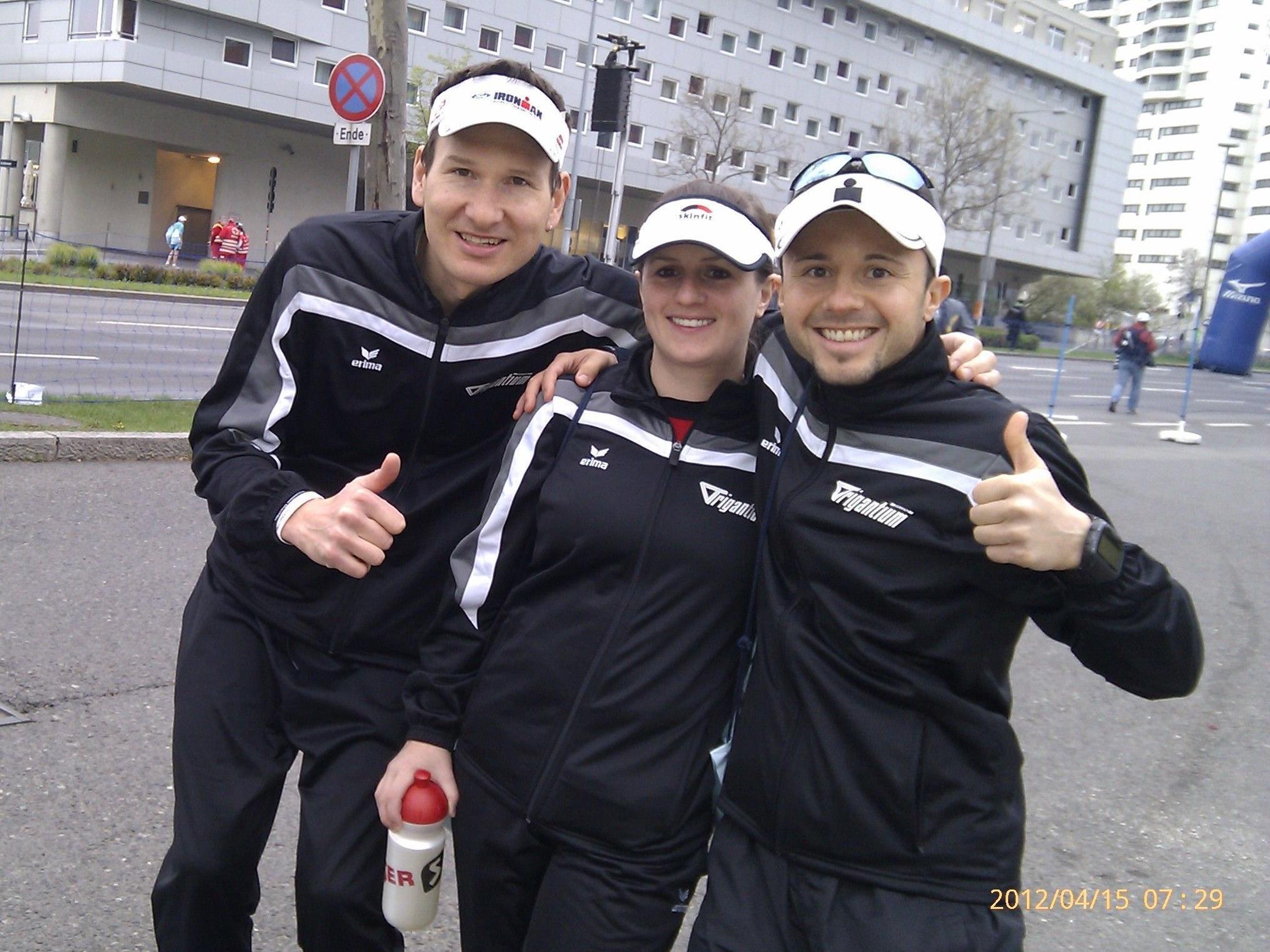 Das erfolgreiche Team in Wien