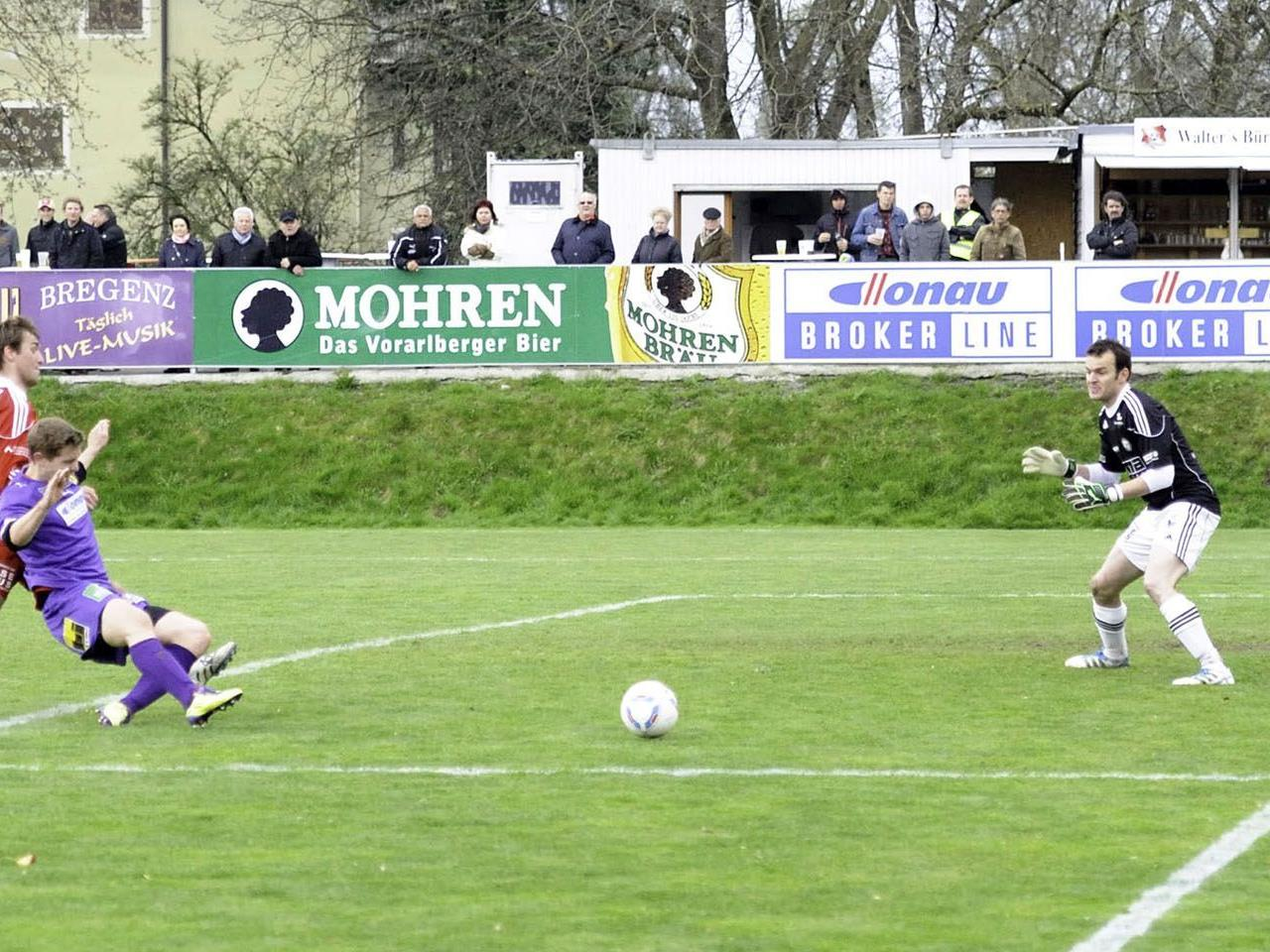 Der 3:0-Heimsieg gegen den Tabellenzweiten zeigt die aktuelle Stärke des FC Viktoria Bregenz.