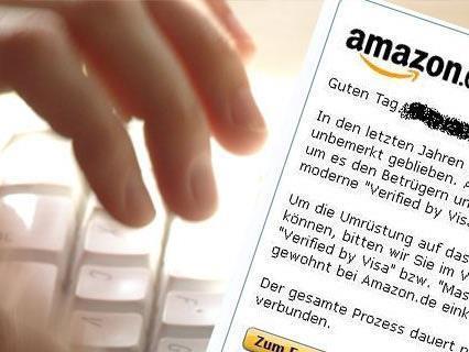 Achtung vor gefäschten E-Mails von Amazon.