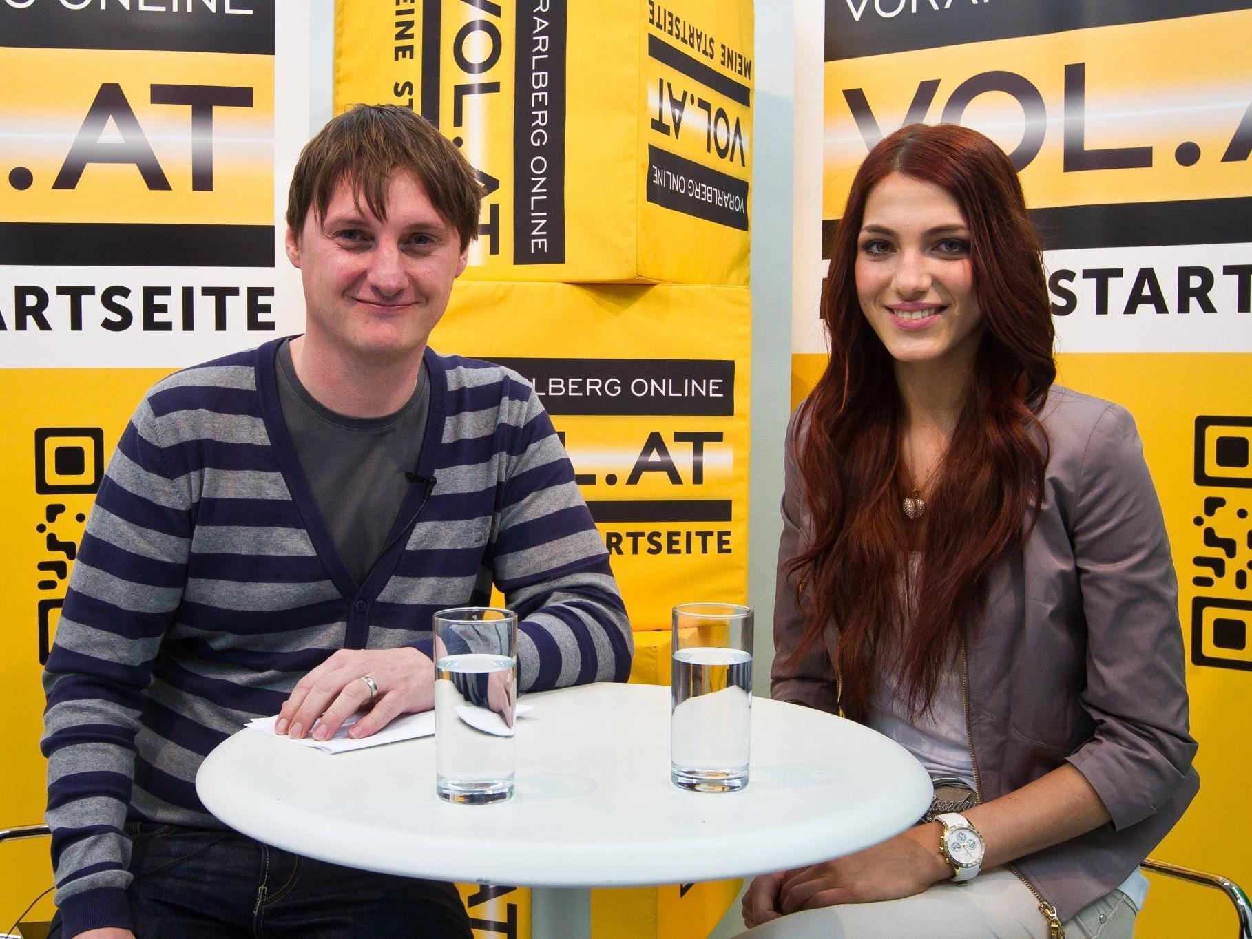 Miss Austria Amina Dagi im Live-Chat von VOL.AT.
