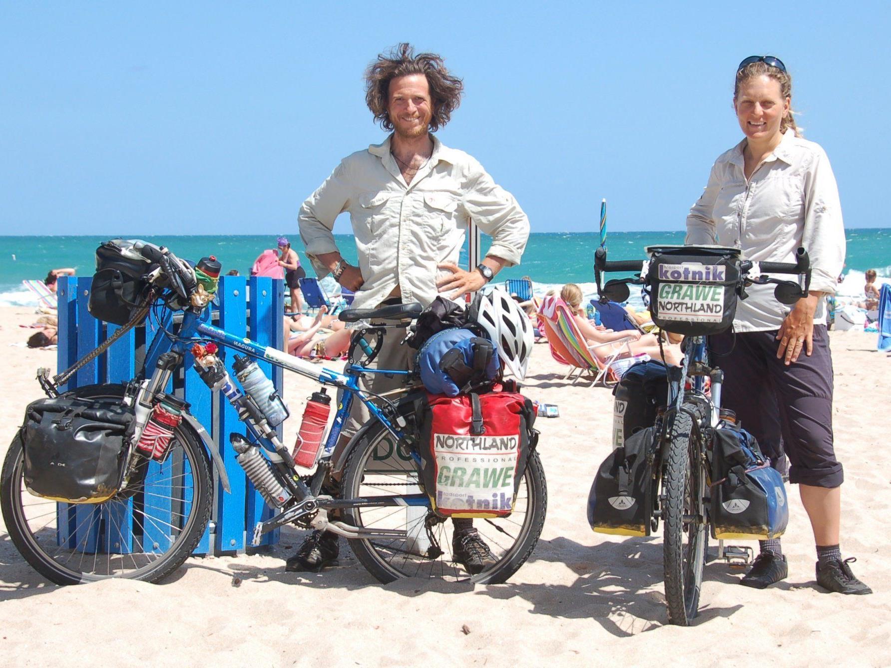 Valeska und Philipp waren im Oktober 2006 zu ihrer Radtour rund um die Welt aufgebrochen.