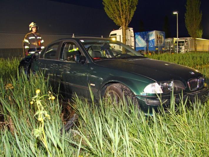 Unfall bei illegalem Autorennen am Wochenende