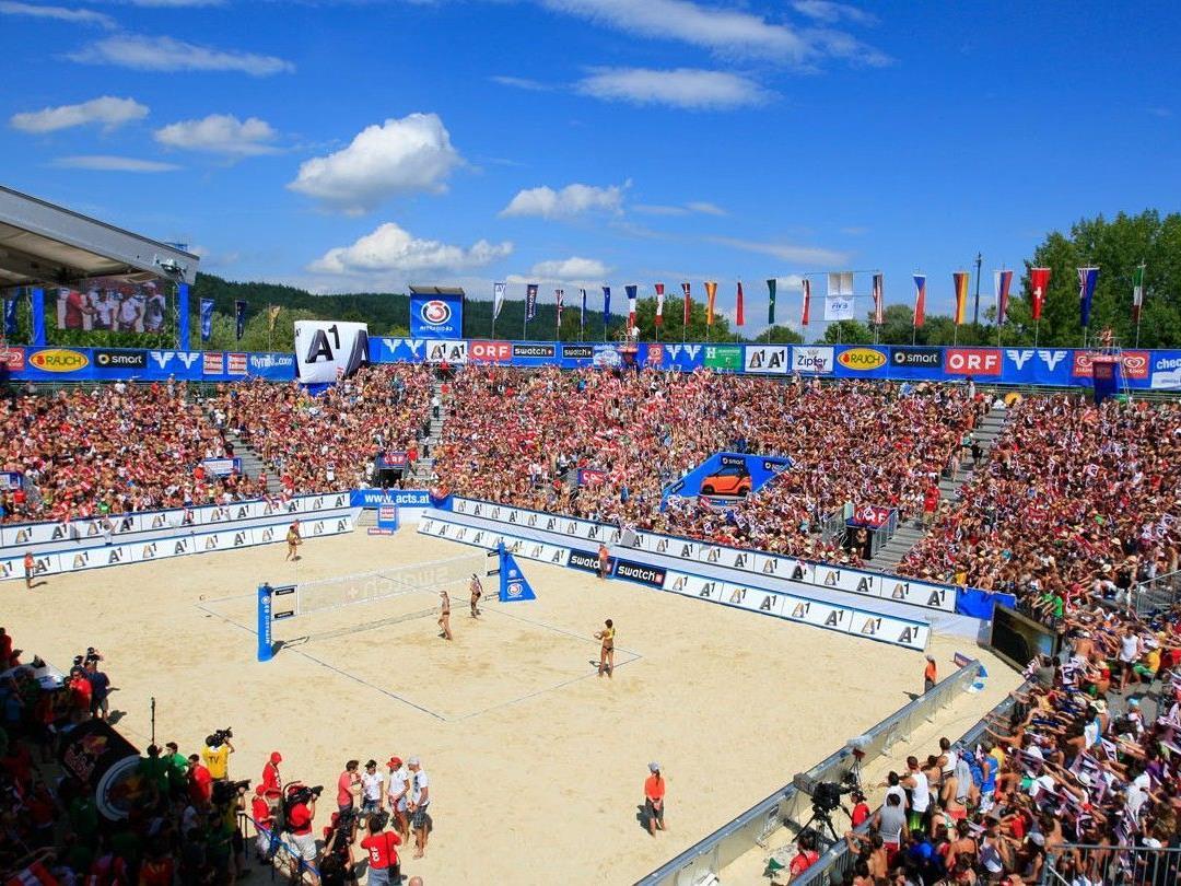 Die Boardingpässe zum A1 Beachvolleyball Grand Slam 2012 sind ab 18. April 2012 erhältlich.