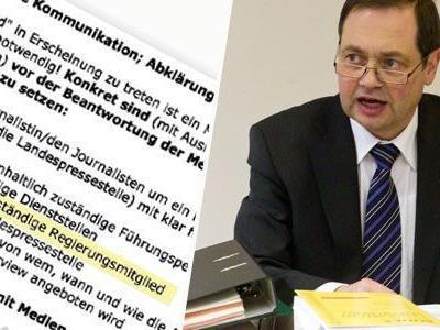 Auszug aus Eberle E-Mails: Beamte sollen sofort Politik informieren!