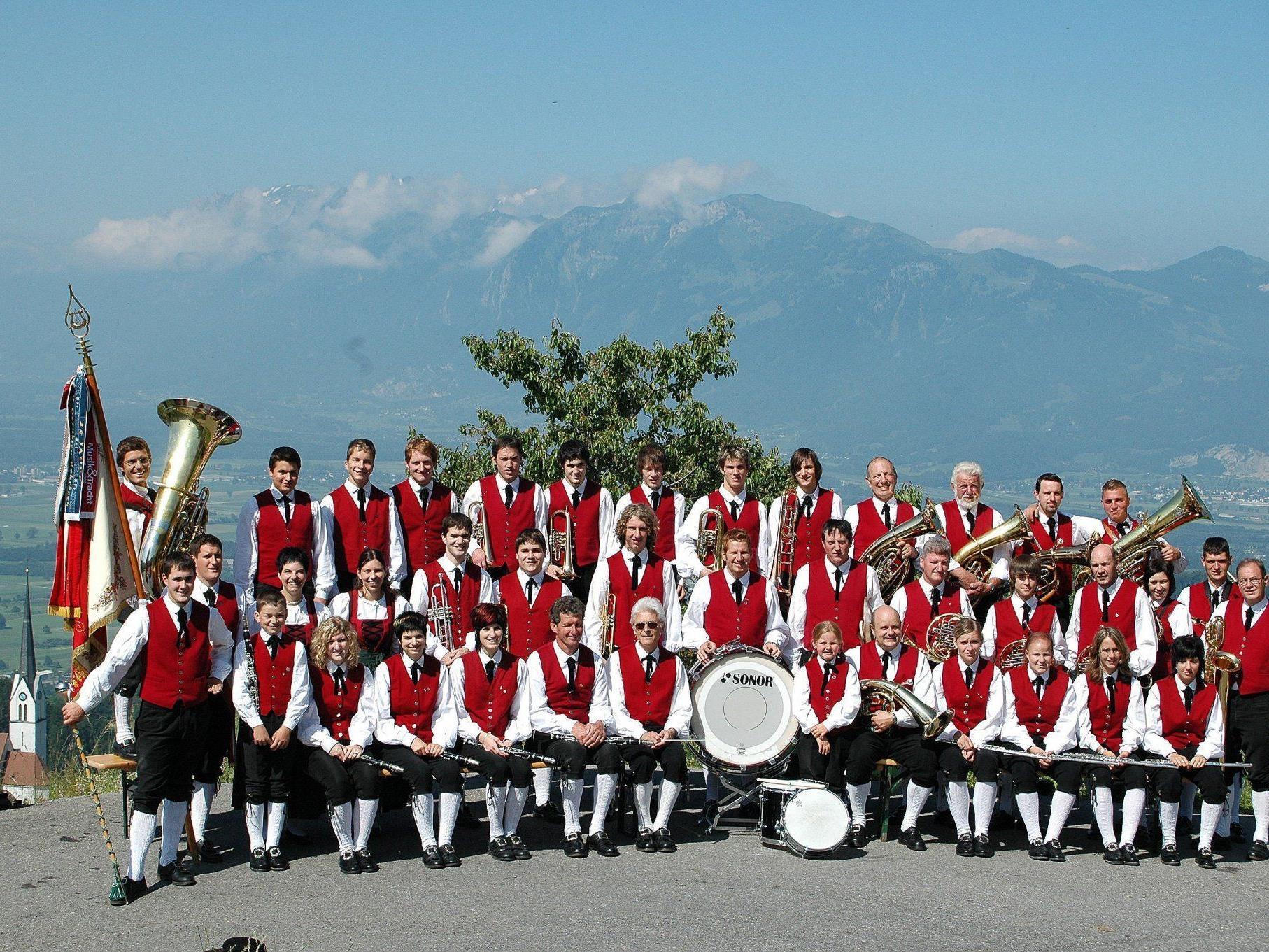 Die Bürgermusik Fraxern lädt am 30. April zum Frühjahrskonzert