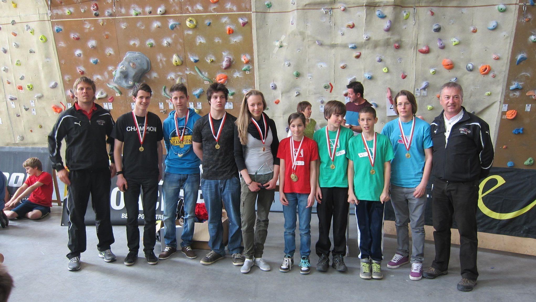 Klettersteigset Gigasport : Schulbouldercup dornbirn vol.at