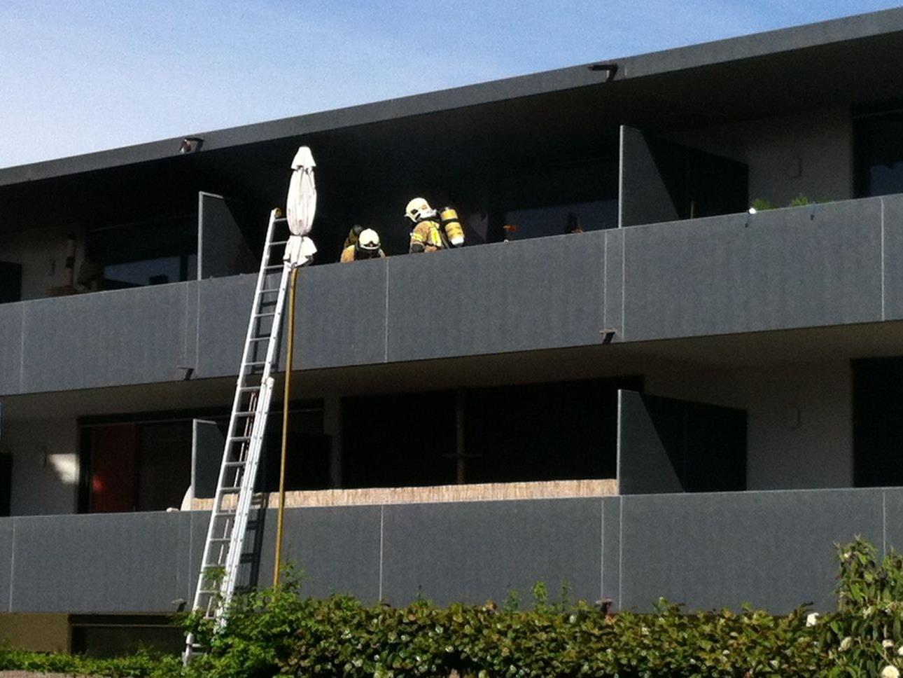 40 Mann der Feuerwehr Lustenau im Einsatz